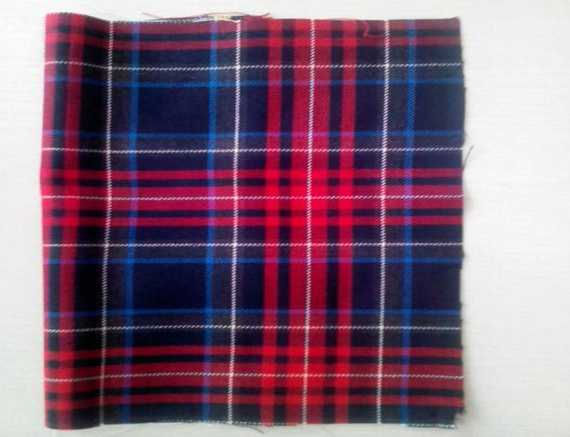 Polyester Viscose TR Plaid School Uniform Fabric