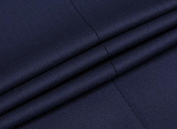 Woven Wool Suiting Fabric