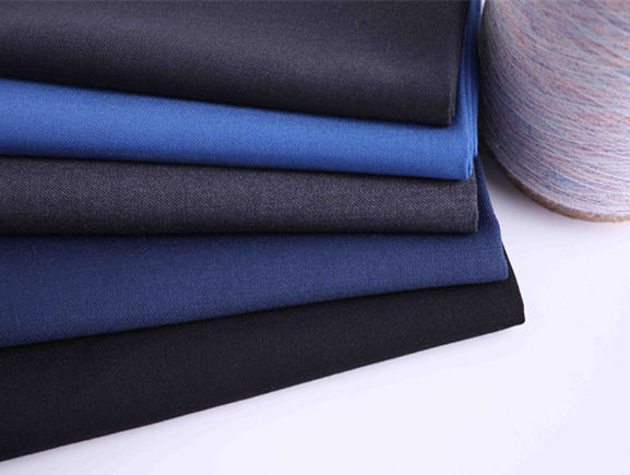Twill Wool Suiting Fabric