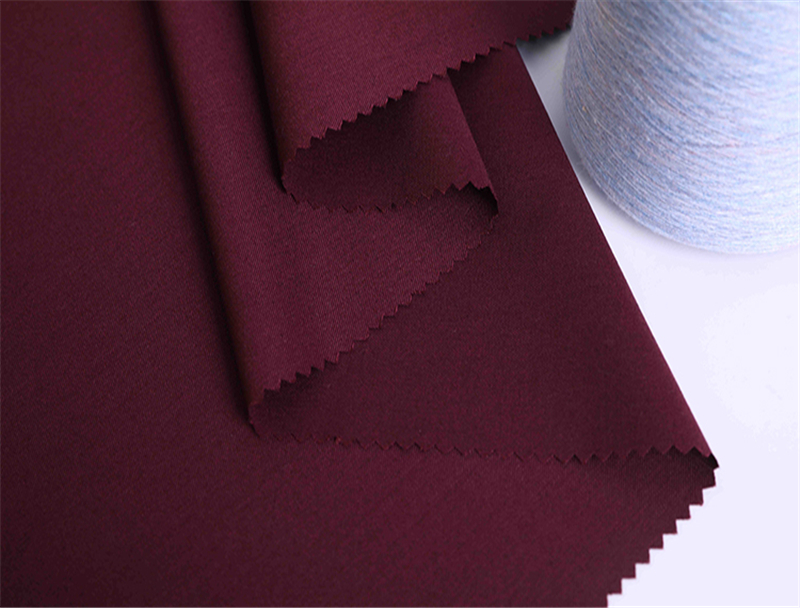 Semi Woolen Worsted Wool Suiting Fabric