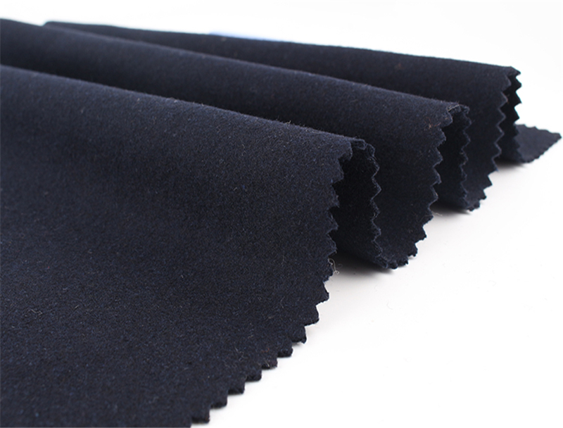 High Quality Military Woolen Melton Overcoat Uniform Fabric