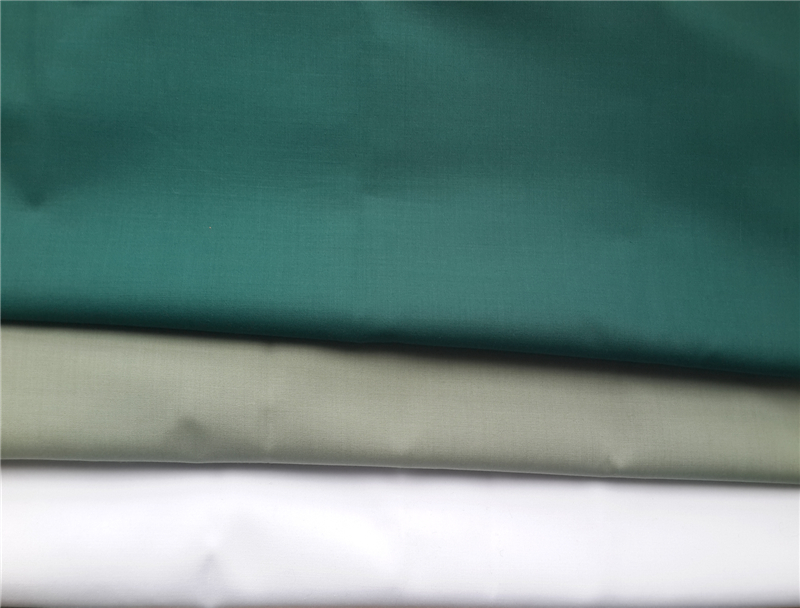 High Quality Polyester Viscose Plain Dyed Military Shirt Fabric
